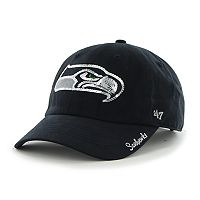Women's '47 Brand Seattle Seahawks Sparkle Adjustable Cap