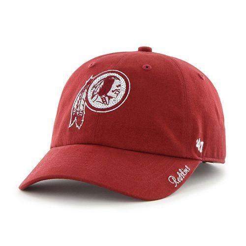 Women's '47 Brand Washington Redskins Sparkle Adjustable Cap