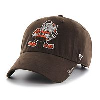 Women's '47 Brand Cleveland Browns Sparkle Adjustable Cap