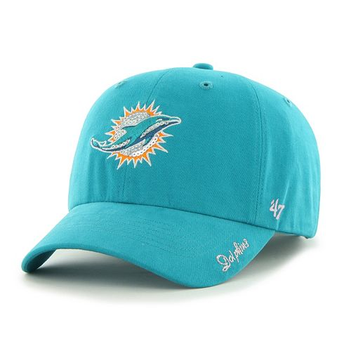 Women's '47 Brand Miami Dolphins Sparkle Adjustable Cap