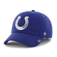 Women's '47 Brand Indianapolis Colts Sparkle Adjustable Cap