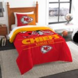Kansas City Chiefs Draft Twin Comforter Set by Northwest