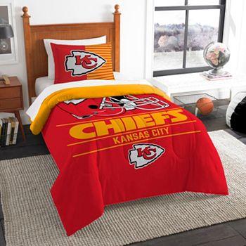 Kansas City Chiefs Draft Twin Comforter Set By Northwest