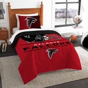 Atlanta Falcons Draft Twin Comforter Set by Northwest