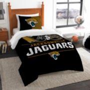 Jacksonville Jaguars Draft Twin Comforter Set by Northwest