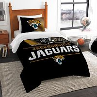 Jacksonville Jaguars Draft Twin Comforter Set by Northwest