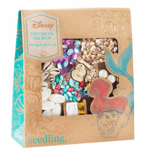 Disney Princess Ariel Create Your Own Shell Jewelry Kit by Seedling