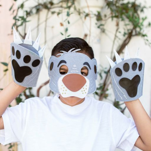 Disney The Jungle Book Design Your Own Bear Mask & Paws Kit by Seedling