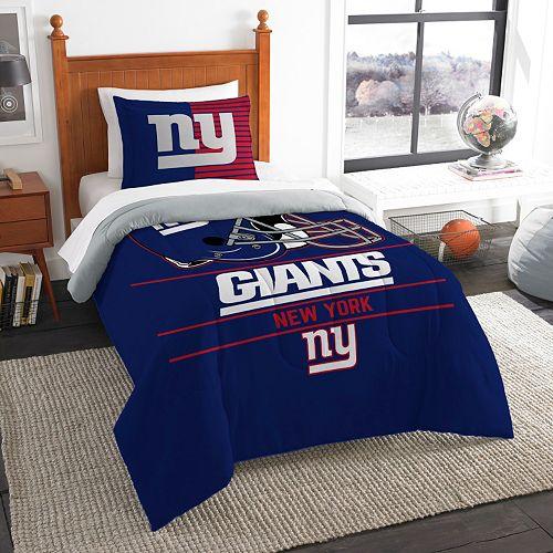 New York Giants Draft Twin Comforter Set by Northwest