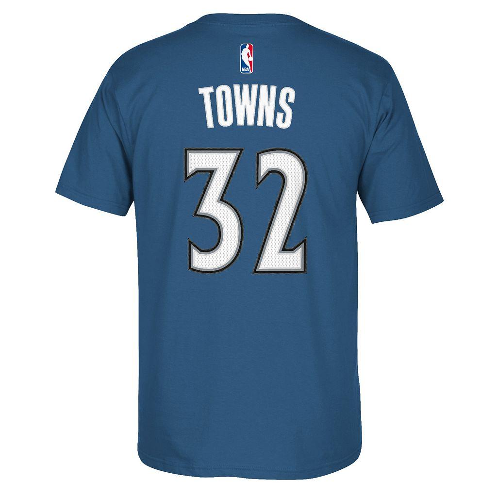 Men's adidas Minnesota Timberwolves Karl-Anthony Towns Player Tee