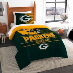 Green Bay Packers Draft Twin Comforter Set by Northwest
