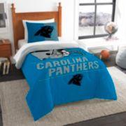 Carolina Panthers Draft Twin Comforter Set by Northwest