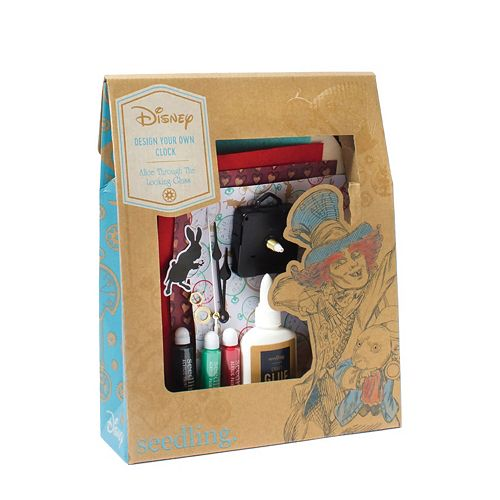 Disney Through the Looking Glass Design Your Own Clock Kit by Seedling