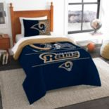 Los Angeles Rams Draft Twin Comforter Set by Northwest