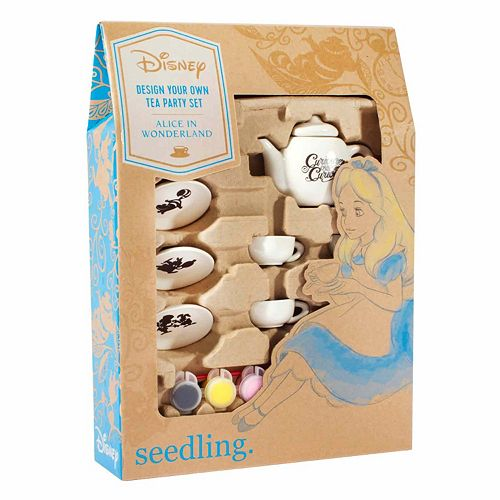 Disney Alice in Wonderland Design Your Own Tea Party Kit by Seedling