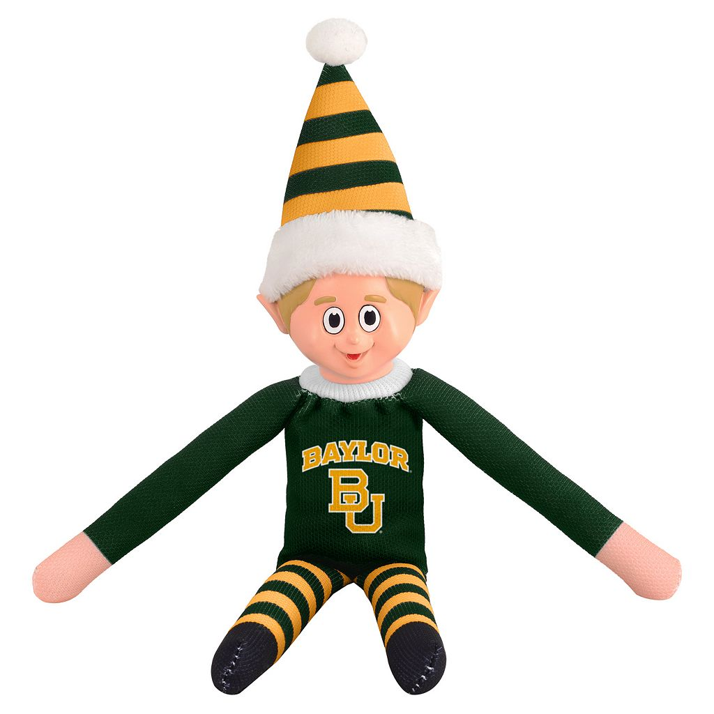 Forever Collectibles Baylor Bears Team Holiday Elf