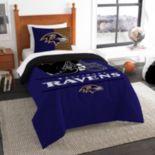 Baltimore Ravens Draft Twin Comforter Set by Northwest