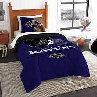 Baltimore Ravens Draft Twin Comforter Set by Northwest