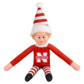 Forever Collectibles Nebraska Cornhuskers Team Holiday Elf