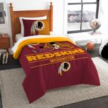Washington Redskins Draft Twin Comforter Set by Northwest