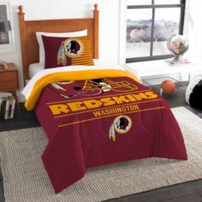 Washington Redskins Draft Twin Comforter Set by Northwest