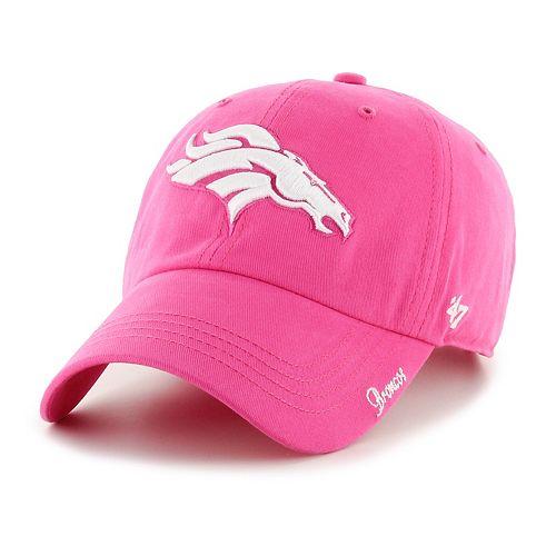Women's '47 Brand Denver Broncos Miata Clean Up Adjustable Cap