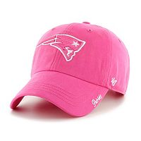 Women's '47 Brand New England Patriots Miata Clean Up Adjustable Cap