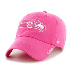 Women's '47 Brand Seattle Seahawks Miata Clean Up Adjustable Cap