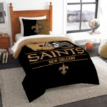 New Orleans Saints Draft Twin Comforter Set by Northwest