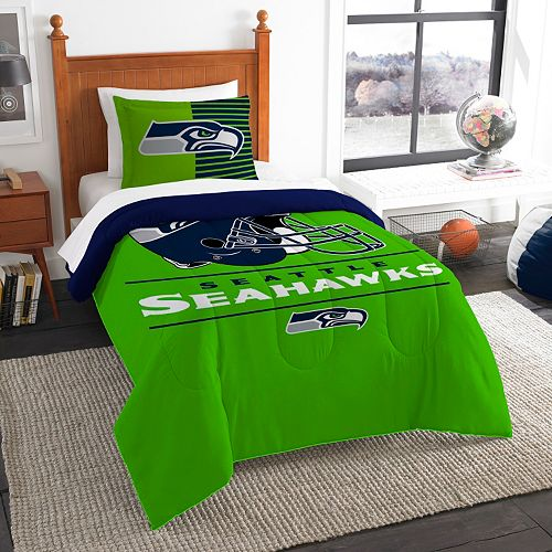 Seattle Seahawks Draft Twin Comforter Set by Northwest
