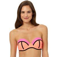 In Mocean Beach Riot Colorblock Bikini Top