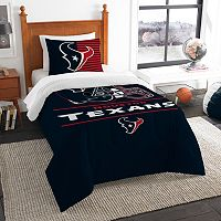Houston Texans Draft Twin Comforter Set by Northwest