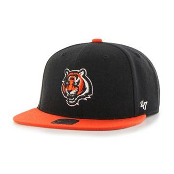 Youth '47 Brand Cincinnati Bengals Lil' Shot Adjustable Cap