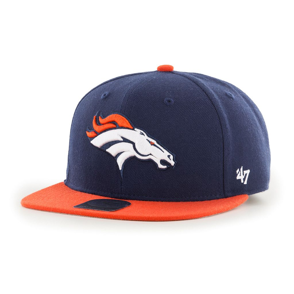 Youth '47 Brand Denver Broncos Lil' Shot Adjustable Cap