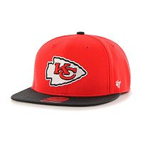 Youth '47 Brand Kansas City Chiefs Lil' Shot Adjustable Cap