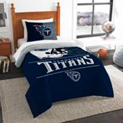Tennessee Titans Draft Twin Comforter Set by Northwest