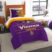 Minnesota Vikings Draft Twin Comforter Set by Northwest