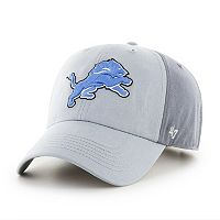 Adult '47 Brand Detroit Lions Storm Northside Clean Up Adjustable Cap