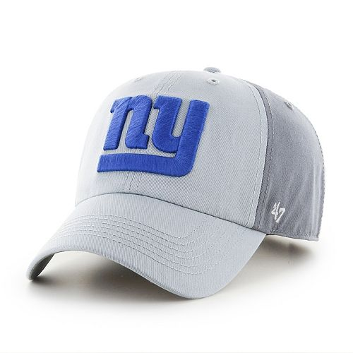 Adult '47 Brand New York Giants Storm Northside Clean Up Adjustable Cap
