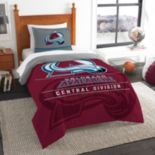 Colorado Avalanche Draft Twin Comforter Set by Northwest