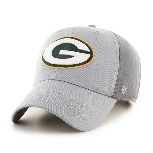 Adult '47 Brand Green Bay Packers Storm Northside Clean Up Adjustable Cap