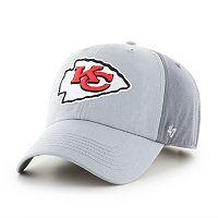 Adult '47 Brand Kansas City Chiefs Storm Northside Clean Up Adjustable Cap