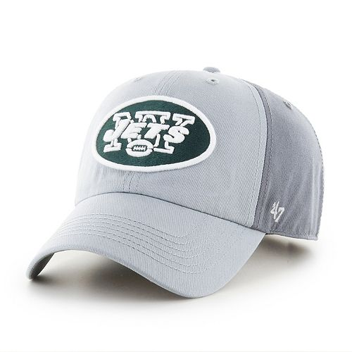 Adult '47 Brand New York Jets Storm Northside Clean Up Adjustable Cap