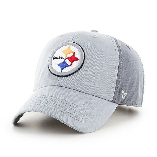 Adult '47 Brand Pittsburgh Steelers Storm Northside Clean Up Adjustable Cap