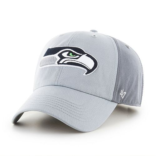 Adult '47 Brand Seattle Seahawks Storm Northside Clean Up Adjustable Cap