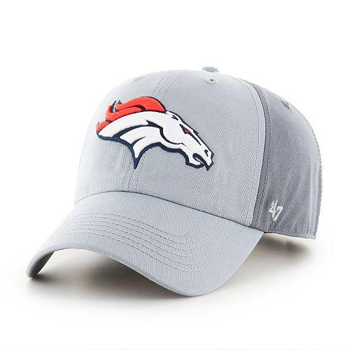 Adult '47 Brand Denver Broncos Storm Northside Clean Up Adjustable Cap