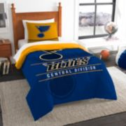 St. Louis Blues Draft Twin Comforter Set by Northwest