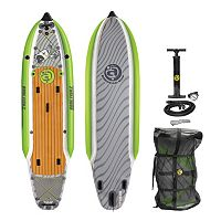 Airhead Bonefish 1138 Inflatable Stand-Up Paddleboard Set