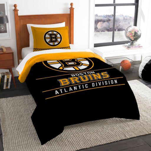 Boston Bruins Draft Twin Comforter Set by Northwest