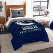 Vancouver Canucks Draft Twin Comforter Set by Northwest